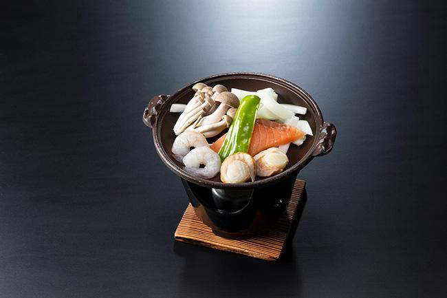 海鮮塩麹陶板イメージ